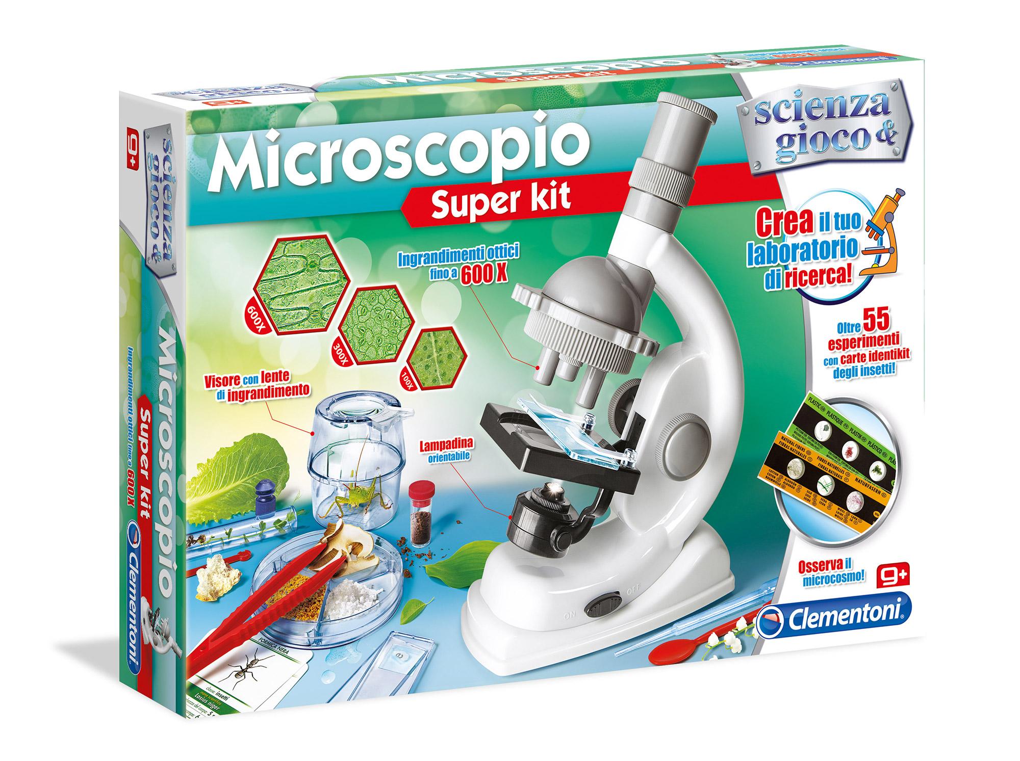 Clementoni - 13967 - microscopio super kit - ALTRO