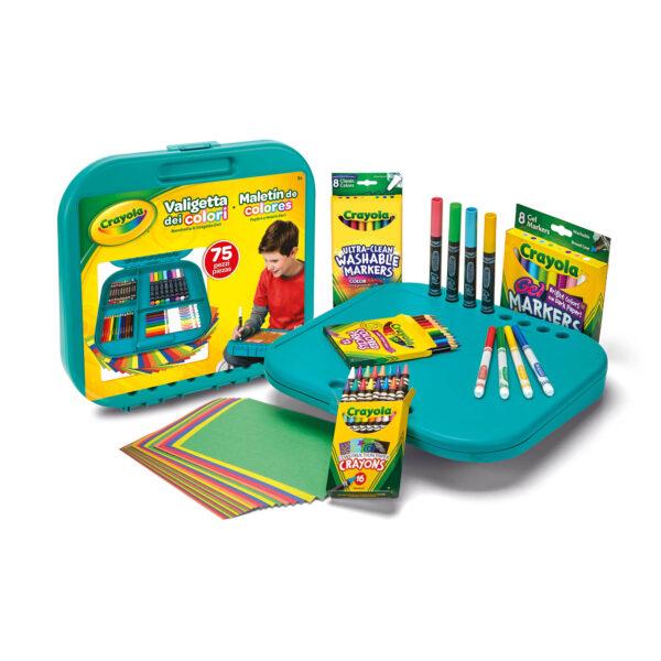 ALTRI ALTRO Unisex 12+ Anni, 3-5 Anni, 5-8 Anni, 8-12 Anni Valigetta dei Colori Crayola