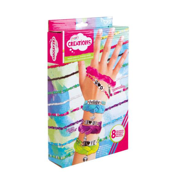 Braccialetti dell'amicizia Crayola Creations ALTRO Femmina 12+ Anni, 5-8 Anni, 8-12 Anni ALTRI