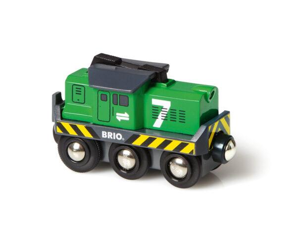 BRIO locomotiva per treno merci a batterie ALTRI Unisex 12-36 Mesi, 3-4 Anni, 3-5 Anni, 5-7 Anni, 5-8 Anni BRIO