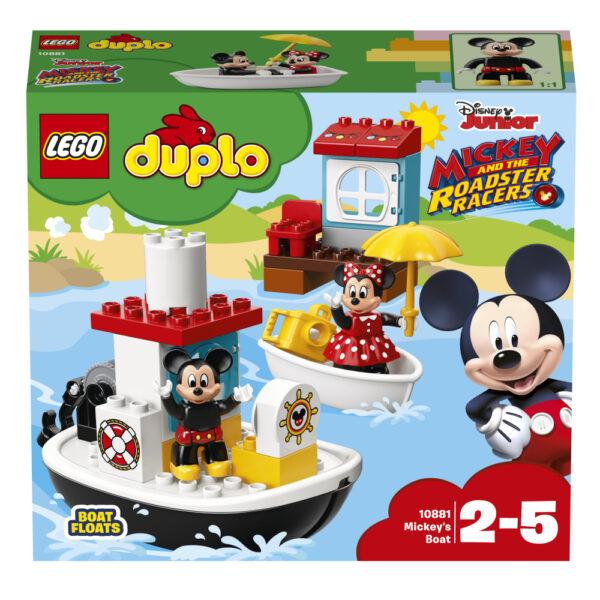 10881 - La barca di Topolino - Lego Duplo - Toys Center ALTRI Unisex 12-36 Mesi, 12+ Anni, 3-5 Anni, 5-8 Anni, 8-12 Anni LEGO DUPLO
