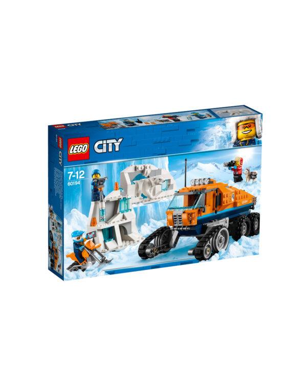 ALTRI LEGO CITY Unisex 12+ Anni, 5-8 Anni, 8-12 Anni LEGO City- Gatto delle nevi artico -  60194