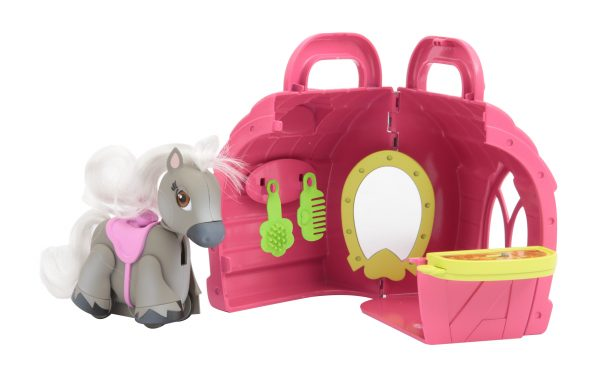 Pet Parade Pony Parade Playset Stalla con Pony Esclusivo e Accessori ALTRI Femmina 12-36 Mesi, 3-5 Anni, 8-12 Anni PET PARADE