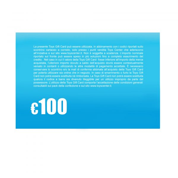 Gift Card 100 - Gift Card    ALTRI