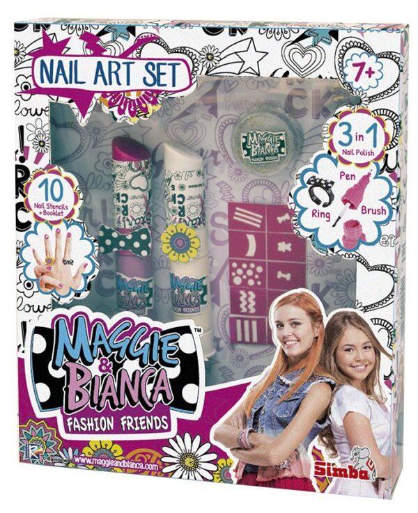 Maggie & Bianca Nail Art Set - Altro - Toys Center ALTRO Femmina 12+ Anni, 5-7 Anni, 8-12 Anni Maggie & Bianca