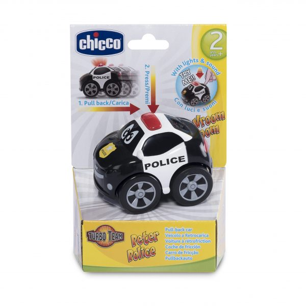 Chicco ALTRI Turbo Team Workers polizia - Chicco - Toys Center Unisex 12-36 Mesi, 3-4 Anni, 3-5 Anni, 5-7 Anni