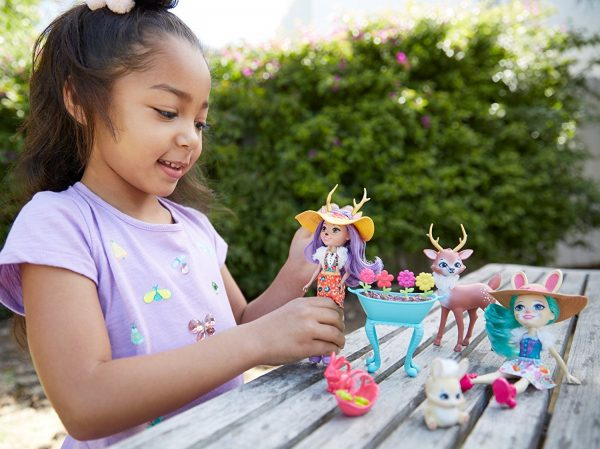 Enchantimals - Playset Giardino Incantato - Enchantimals - Toys Center ALTRI Femmina 12+ Anni, 3-5 Anni, 5-8 Anni, 8-12 Anni ENCHANTIMALS