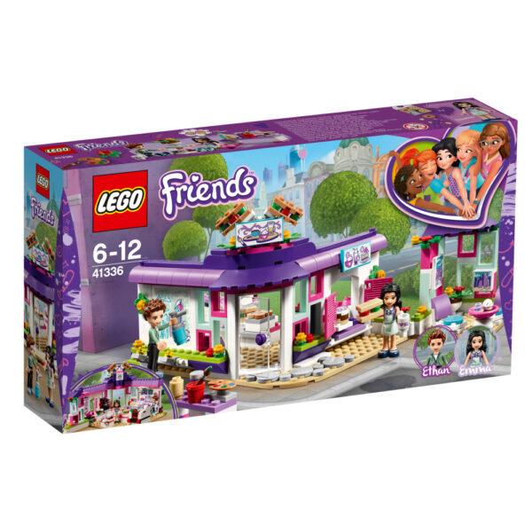 LEGO Friends  - Il caffè degli artisti di Emma - 41336 LEGO FRIENDS Femmina 12+ Anni, 5-8 Anni, 8-12 Anni ALTRI