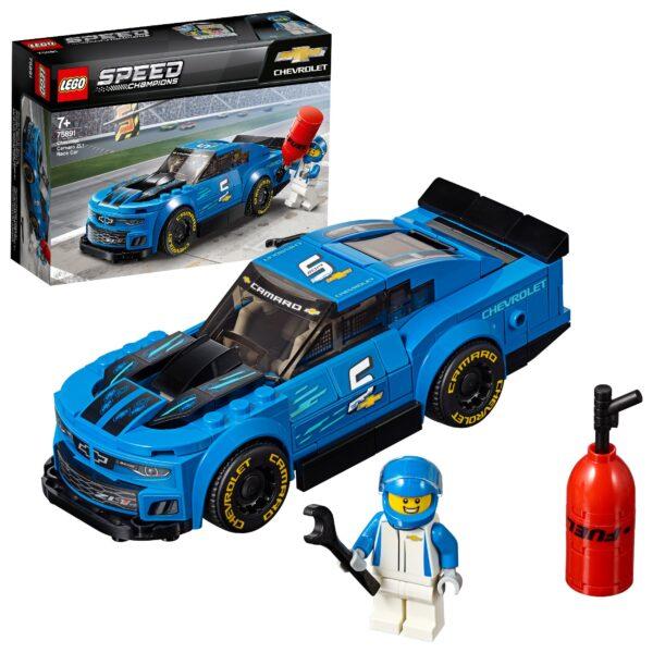 75891 - Auto da corsa Chevrolet Camaro ZL1 - Lego Speed Champions - Toys Center LEGO SPEED CHAMPIONS Unisex 12+ Anni, 5-8 Anni, 8-12 Anni ALTRI