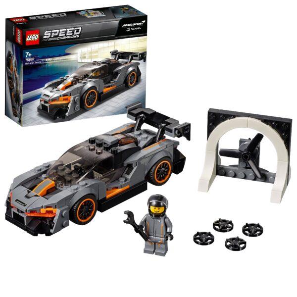 75892 - McLaren Senna - Lego Speed Champions - Toys Center LEGO SPEED CHAMPIONS Unisex 12+ Anni, 5-8 Anni, 8-12 Anni ALTRI