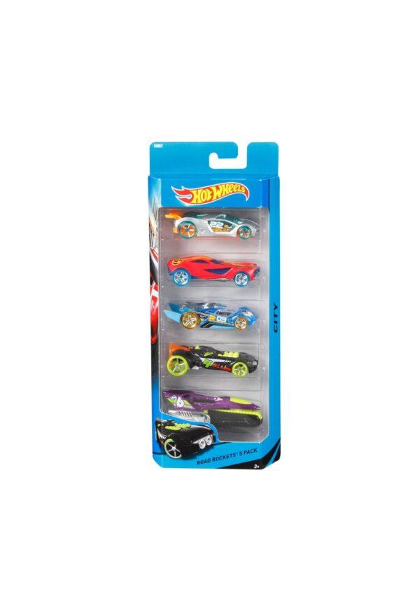 Mattel Hot Wheels Confezione 5 veicoli - Hot Wheels - Toys Center Hot Wheels Maschio 12-36 Mesi, 3-5 Anni, 5-8 Anni ALTRI
