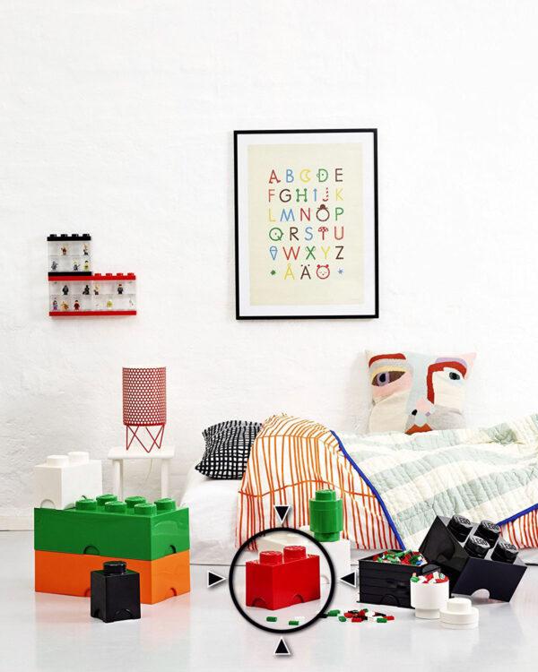 Contenitore LEGO Brick 2 Rosso - Licenza Lego - LEGO - Marche ALTRI Unisex 12-36 Mesi, 12+ Anni, 3-5 Anni, 5-8 Anni, 8-12 Anni ALTRO