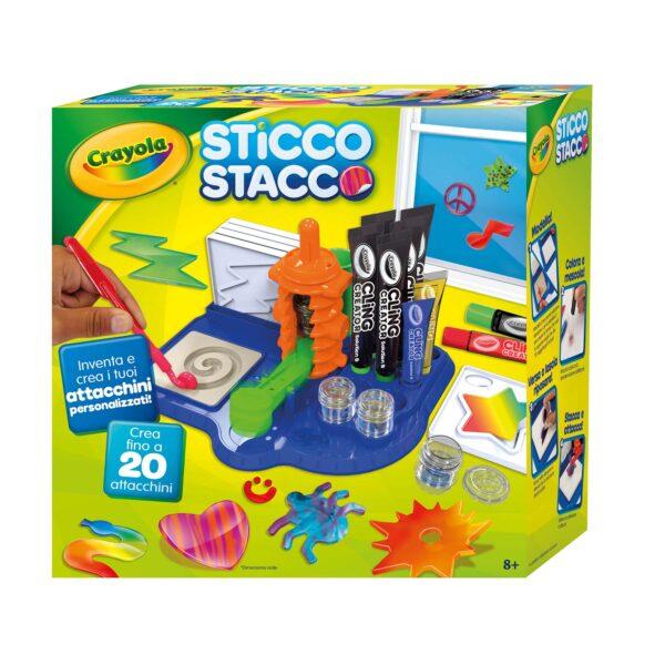 Sticco Stacco Crayola ALTRO Unisex 12+ Anni, 5-8 Anni, 8-12 Anni ALTRI