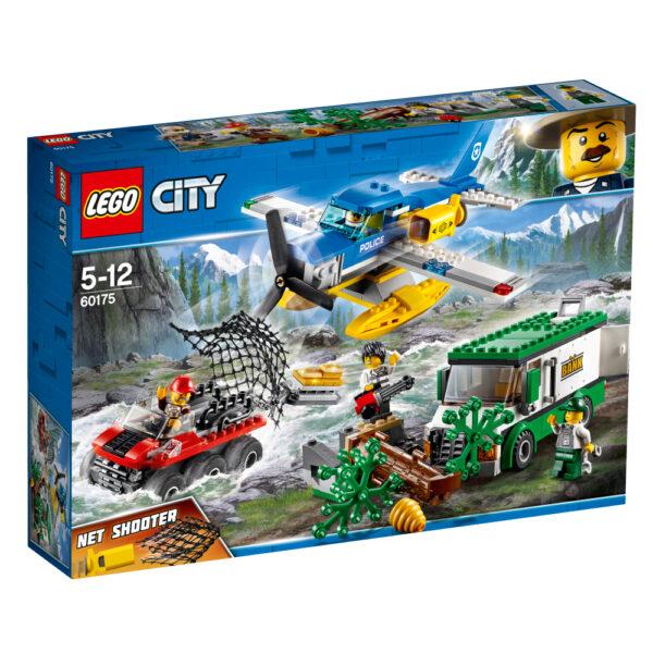LEGO City - Rapina sul fiume - 60175 LEGO CITY Maschio 12+ Anni, 3-5 Anni, 5-8 Anni, 8-12 Anni ALTRI