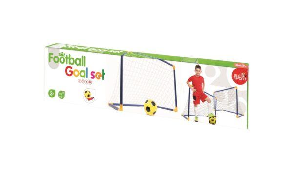ALTRI SUN&SPORT Maschio 3-5 Anni, 5-8 Anni Porte Calcio Football Goal Set 2in1