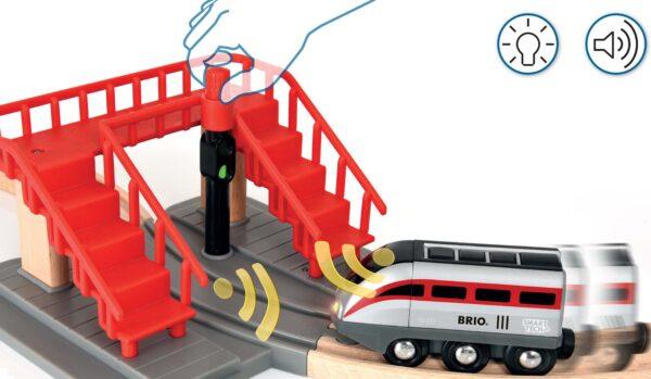 ALTRI BRIO SET FERROVIA Unisex 12-36 Mesi, 3-5 Anni, 5-8 Anni, 8-12 Anni BRIO Smart Tech Set Locomotiva intelligente con tunnel - Brio Set Ferrovia - Toys Center