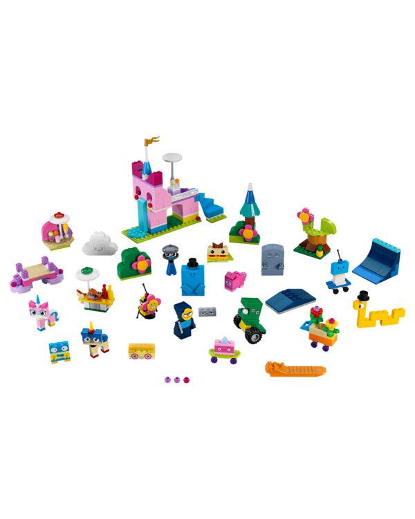 41455 - Scatola di mattoncini creativi Unikingdom Unisex 12+ Anni, 3-5 Anni, 5-8 Anni, 8-12 Anni ALTRI LEGO UNIKITTY