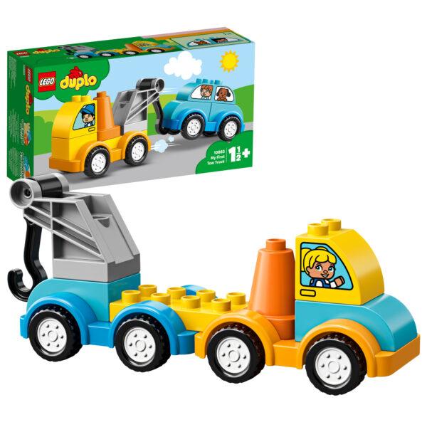 10883 - La mia prima autogrù - Lego Duplo - Toys Center LEGO DUPLO Unisex 0-12 Mesi, 12-36 Mesi, 12+ Anni, 3-5 Anni, 5-8 Anni, 8-12 Anni ALTRI