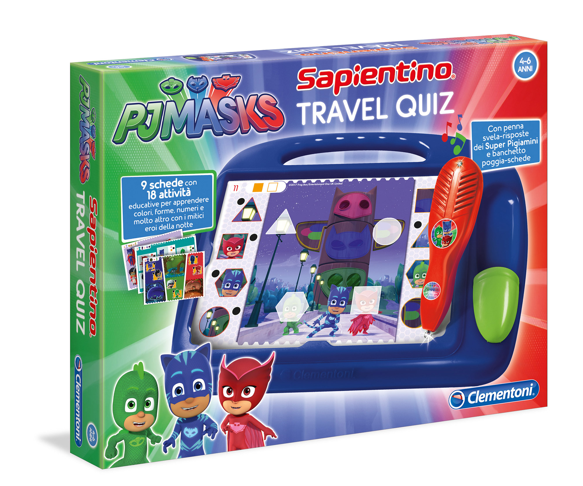 SAPIENTINO TRAVEL QUIZ PJMASKS - Sapientino - Toys Center