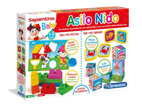 SAPIENTINO BABY ASILO NIDO - SAPIENTINO - Giochi di emulazione, di modellismo, educativi