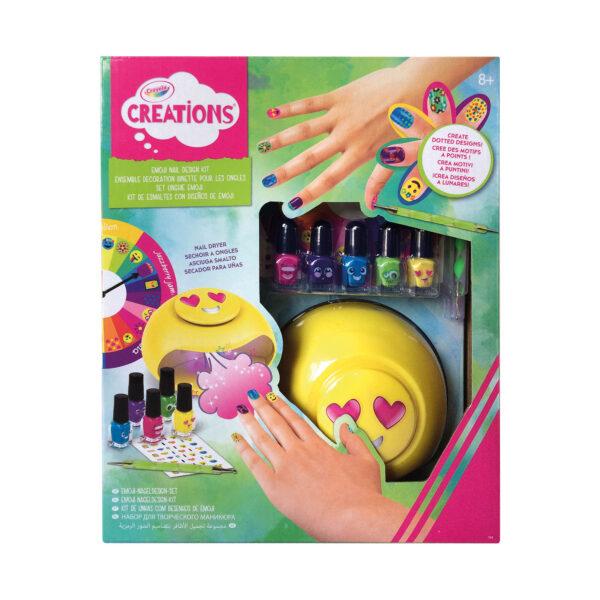 Set Unghie Emoji Crayola Creations ALTRO Femmina 12+ Anni, 5-8 Anni, 8-12 Anni ALTRI