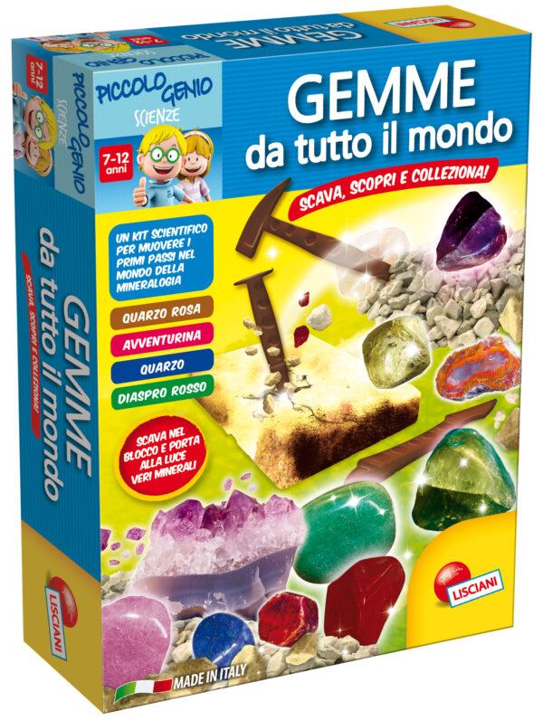 Piccolo Genio Gemme Preziose - Piccolo Genio - Toys Center PICCOLO GENIO Unisex 5-8 Anni, 8-12 Anni ALTRI