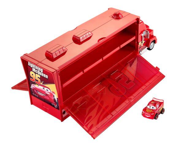 Cars 3 - Mack Trasportatore Mini Racers, con un Mini Racer incluso, può contenere fino a 16 Mini Racers - FLG70 - Disney - Pixar - Toys Center CARS Maschio 12+ Anni, 8-12 Anni DISNEY - PIXAR