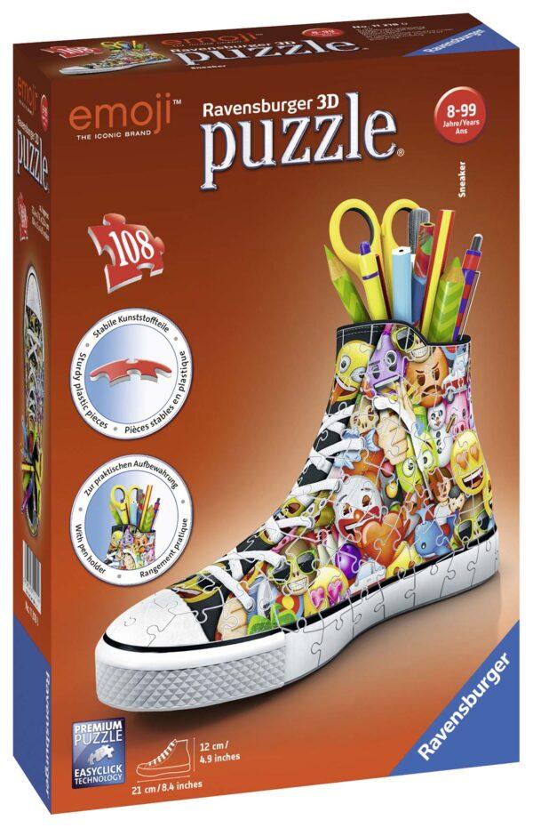 3D Puzzle Sneaker - Emoji - Altro - Toys Center EMOJI Unisex 12+ Anni, 5-8 Anni, 8-12 Anni ALTRO