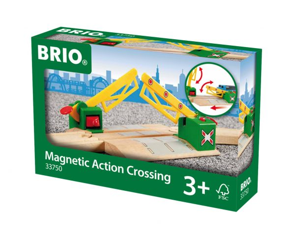 BRIO passaggio a livello magnetico - BRIO