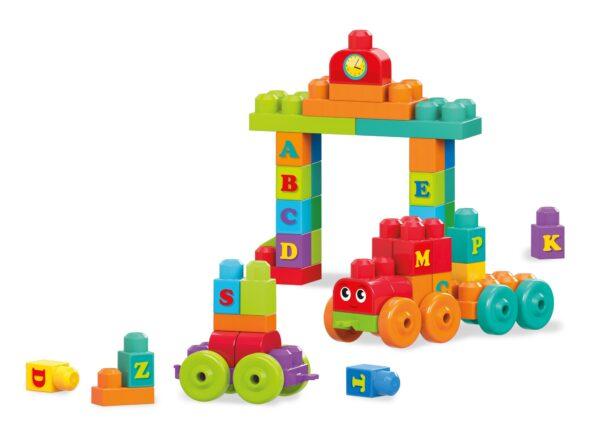 ALTRI MEGA BLOKS Maschio 0-12 Mesi, 12-36 Mesi, 12+ Anni, 8-12 Anni Mega first Builders - Impara con il treno!
