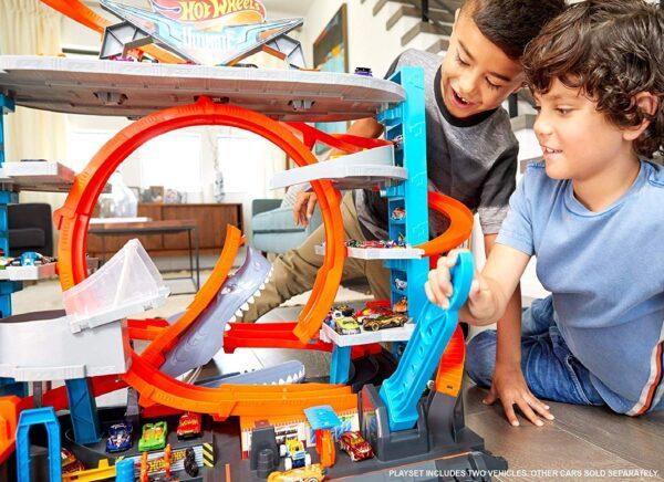 Hot Wheels - garage delle Acrobazie - Hot Wheels - Toys Center ALTRI Maschio 8-12 Anni Hot Wheels