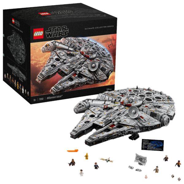 Disney Star Wars 75192 - Millennium Falcon™ - Giocattoli Toys Center Maschio 12+ Anni