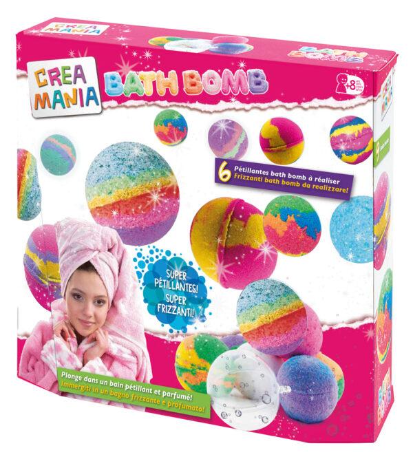 CREAMANIA SET BATH BOMB CREAMANIA GIRL Femmina 12+ Anni, 5-8 Anni, 8-12 Anni ALTRI