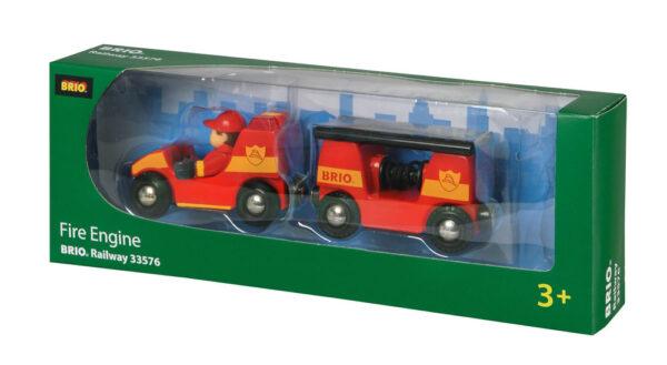 BRIO veicolo dei pompieri luci e suoni BRIO Unisex 12-36 Mesi, 3-4 Anni, 3-5 Anni, 5-7 Anni, 5-8 Anni ALTRI