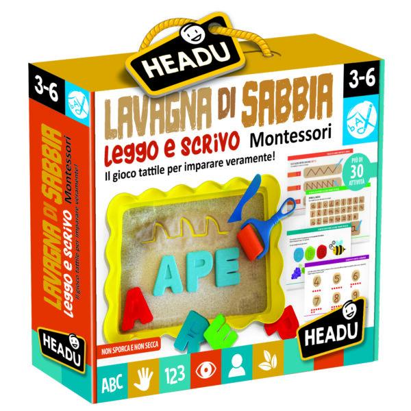 Lavagna di Sabbia Leggo e Scrivo Montessori - ALTRO - Giochi da tavolo