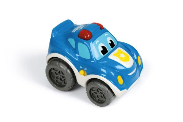 Tobia Auto Polizia - Baby Clementoni - Toys Center BABY CLEMENTONI Unisex 0-2 Anni, 3-4 Anni ALTRI