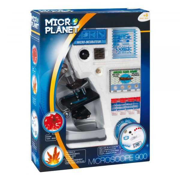 MICROPLANET MICROSCOPIO 900 - Microplanet - Toys Center MICROPLANET Unisex 12+ Anni, 5-8 Anni, 8-12 Anni ALTRI