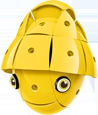 KOR ALTRI KOR Color Yellow - GEOMAGWORLD - Marche Unisex 3-5 Anni, 5-7 Anni, 5-8 Anni, 8-12 Anni