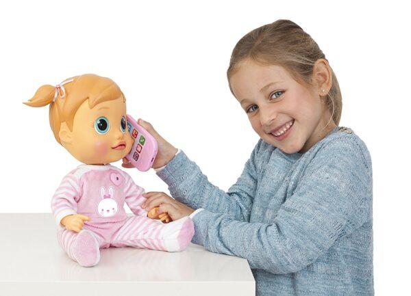 ALTRO ALTRI Tea Bambola interattiva Baby Wow Femmina 12-36 Mesi, 3-5 Anni, 5-8 Anni