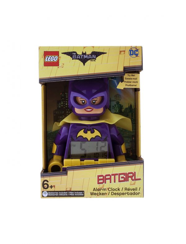 Sveglia LEGO Batman Movie Batgirl - DC SUPER HERO GIRLS - Personaggi 12+ Anni, 5-8 Anni, 8-12 Anni Unisex DC COMICS DC SUPERHERO GIRLS
