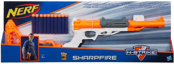 Nerf, Sharpfire - Nerf - Toys Center NERF Maschio 12+ Anni, 5-8 Anni, 8-12 Anni ALTRI