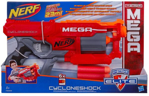 Nerf, Mega Cyclone - Nerf - Toys Center - NERF - Accessori abbigliamento di Carnevale