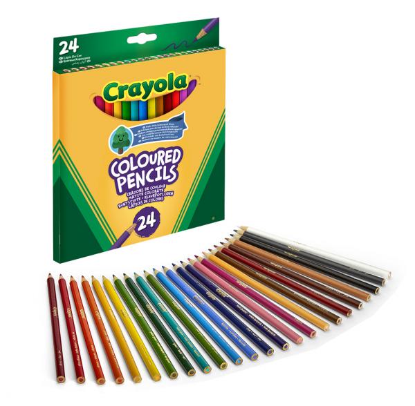 ALTRI CRAYOLA Unisex 12-36 Mesi, 12+ Anni, 3-5 Anni, 5-8 Anni, 8-12 Anni 24 Matite colorate Crayola - Altro - Toys Center