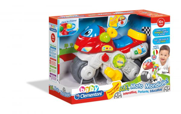 BABYCLEM Ale Motomondiale - BABY CLEM - Linee ALTRI Unisex 0-12 Mesi, 0-2 Anni, 3-4 Anni BABY CLEMENTONI