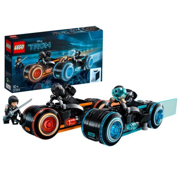 21314 - TRON: Legacy Unisex 12+ Anni, 8-12 Anni ALTRI LEGO IDEAS