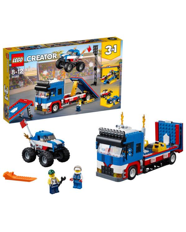 LEGO CREATOR ALTRI 31085 - Truck dello Stuntman - Lego Creator - Toys Center Unisex 12+ Anni, 5-8 Anni, 8-12 Anni