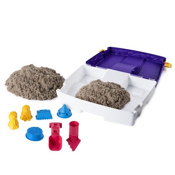 Kinetic Sand Valigetta Sempre con Te ALTRI Unisex 12-36 Mesi, 12+ Anni, 3-5 Anni, 5-8 Anni, 8-12 Anni Spin Master