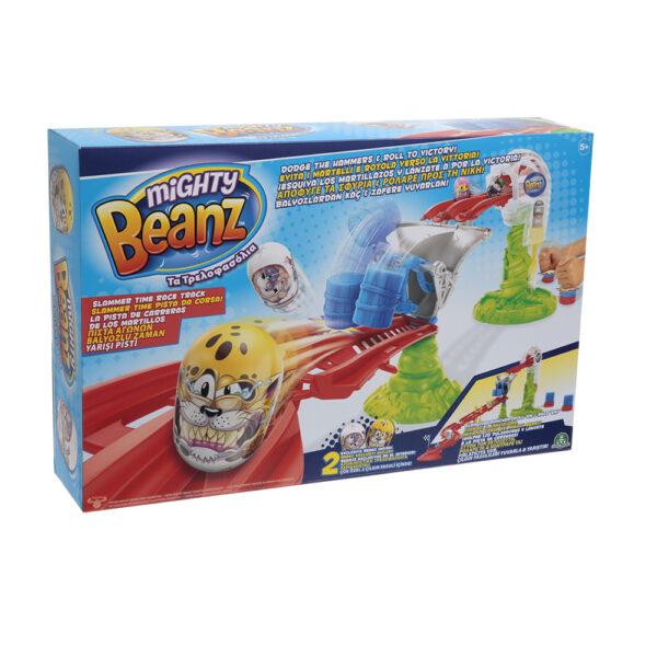 Giochi Preziosi Mighty Beanz, Pista Slammer Time Race Track, con 2 personaggi inclusi - Altro - Toys Center ALTRI Maschio 3-5 Anni, 5-8 Anni, 8-12 Anni ALTRO