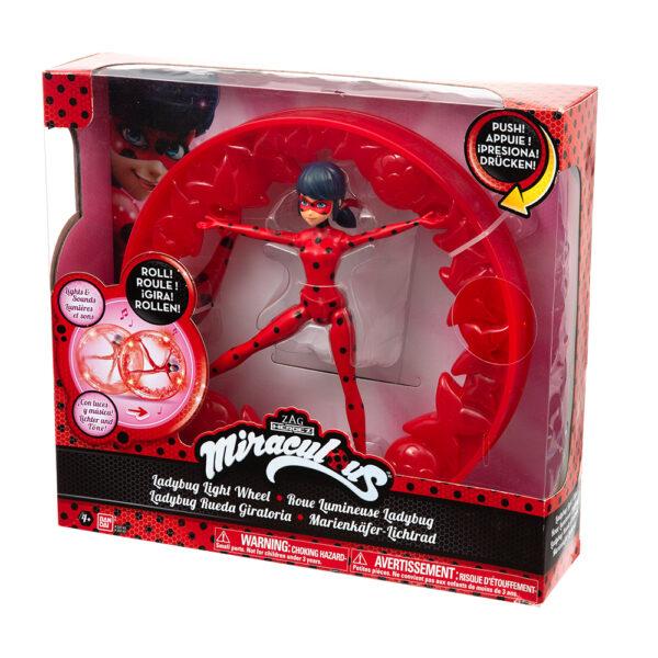 Giochi Preziosi Lady Bug Wheel, con luci e suoni, effetto Roll ALTRI Femmina 3-5 Anni, 5-8 Anni, 8-12 Anni ALTRO