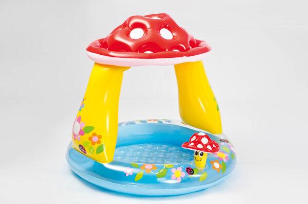 ALTRI ALTRO Unisex 12-36 Mesi, 3-5 Anni PISCINA BABY FUNGO CM 102X89 I.6 - Altro - Toys Center